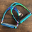 Thumbnail: Evo Equine Rainbow Gloss Bent Leg Stirrup. 4.5""