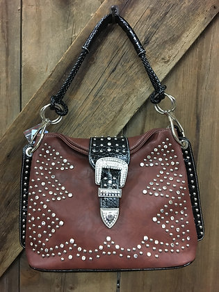 Bling Purse Brown and Black