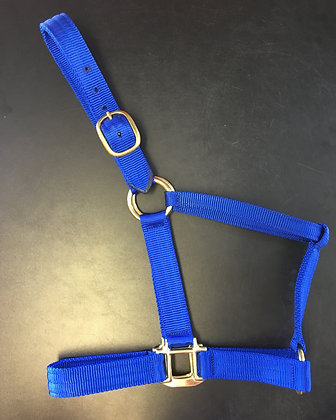 Wide Nylon Halter