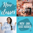 New Classes Added To Our Calendar