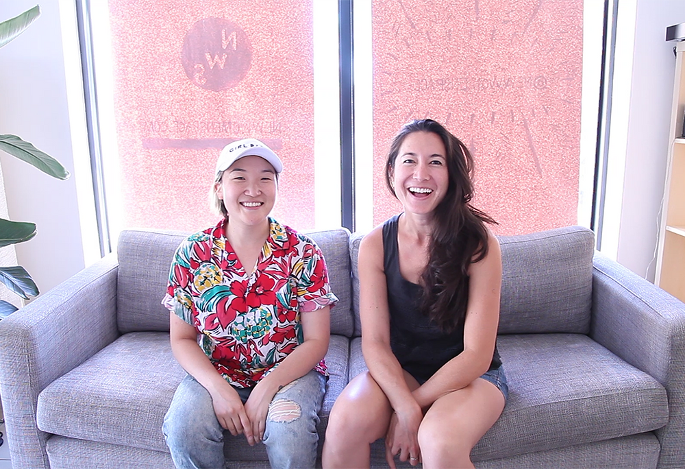 Sandra Hong (L) & Melissa Wong (R), founders of New Women Space