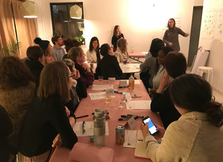 Financial vision boarding event @ New Women Space