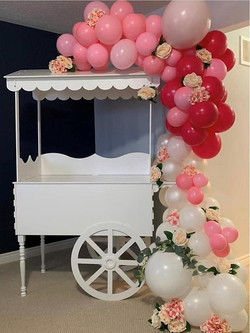 Display Dessert Cart