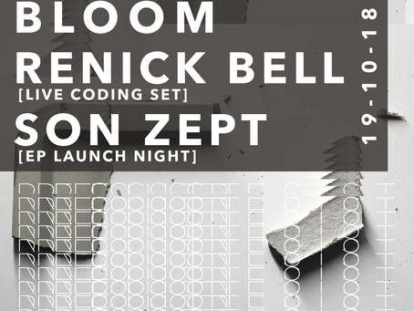 RESIST003: Son Zept 'Q2B EP' launch + special guests Renick Bell & Bloom