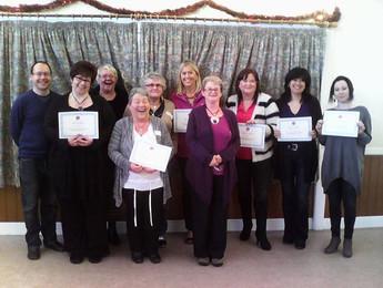 Tarot Workshop  certificates