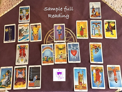 Full Tarot Reading online (Skype/Facetime chat/Zoom)