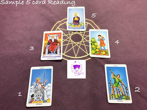 5 card situation reading EMAIL only!