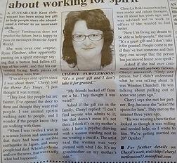 Cheryl Turtlemoon Psychic News