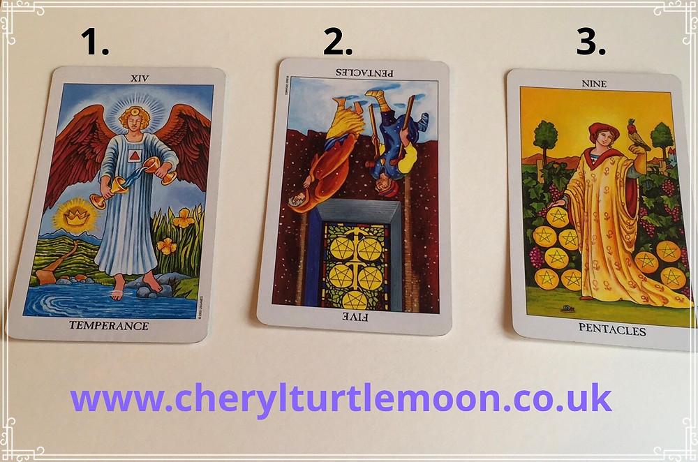 cheryl turtlemoon 3 card pick