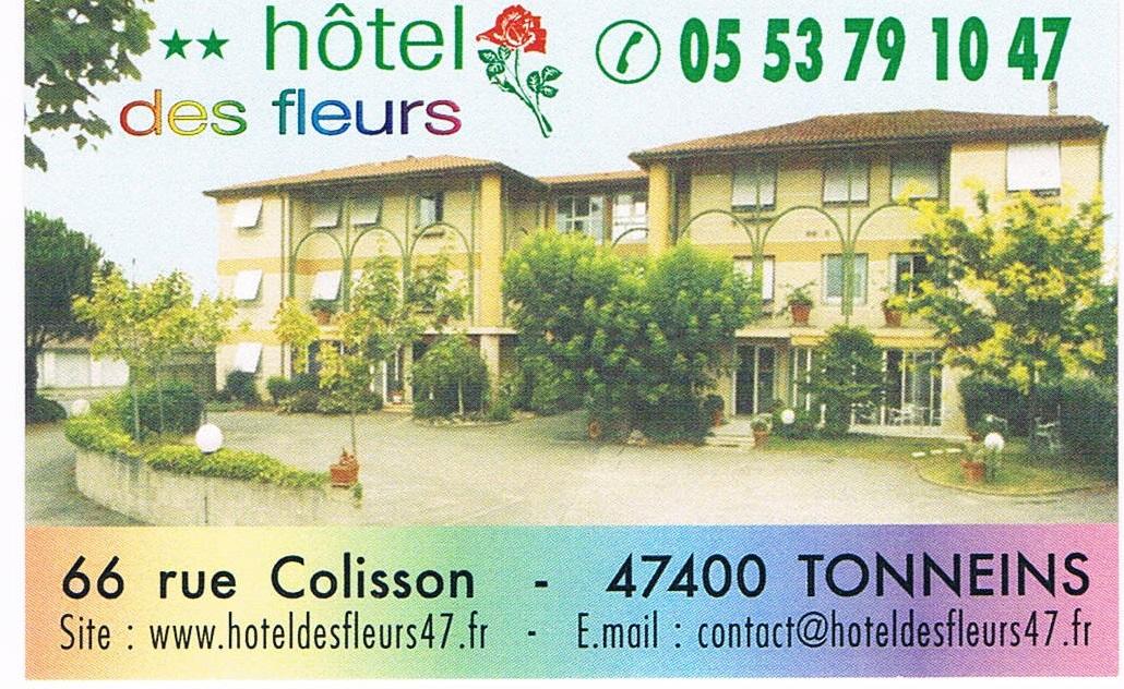 Hotel des fleurs Tonneins