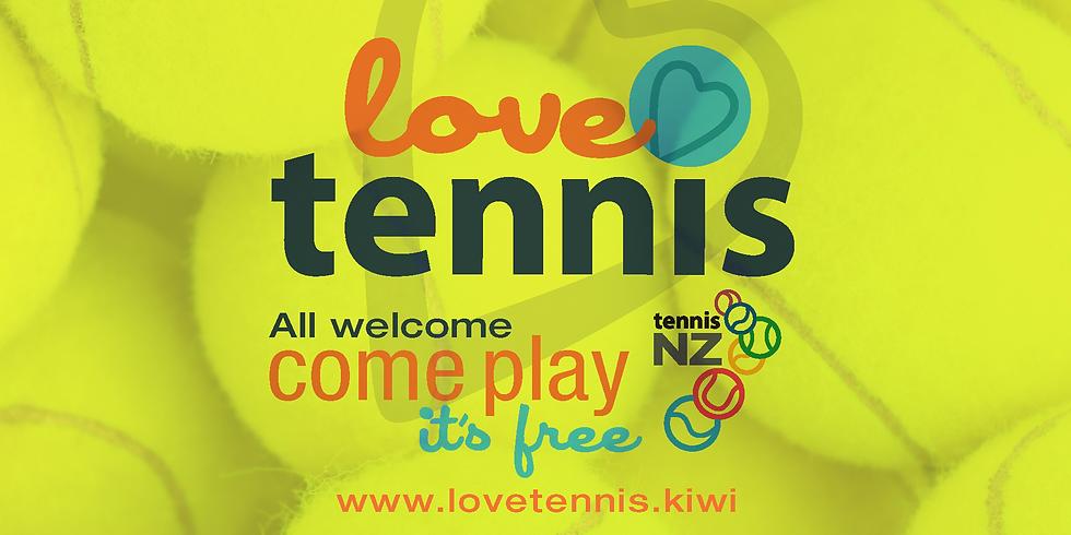 LOVE TENNIS 2020 - Sun 11 Oct