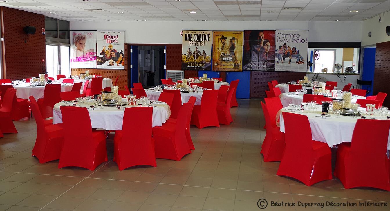 salle mariage thème cinéma