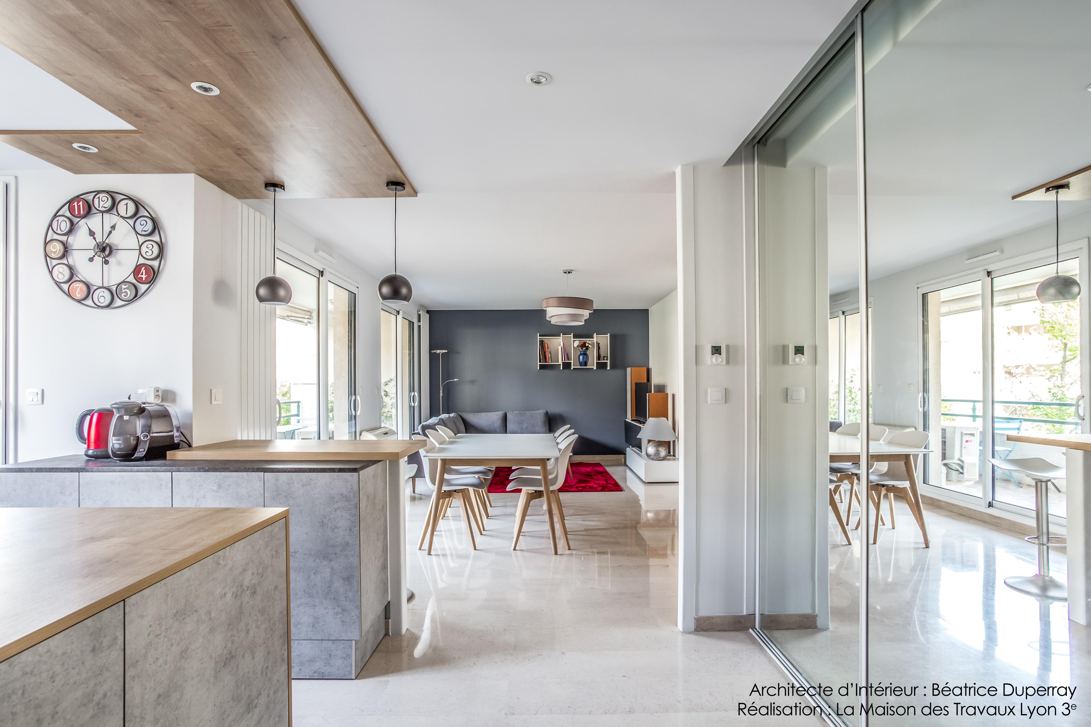 Rénovation appartement Lyon 3e