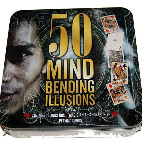50 Mind Bending Illusions magic kit