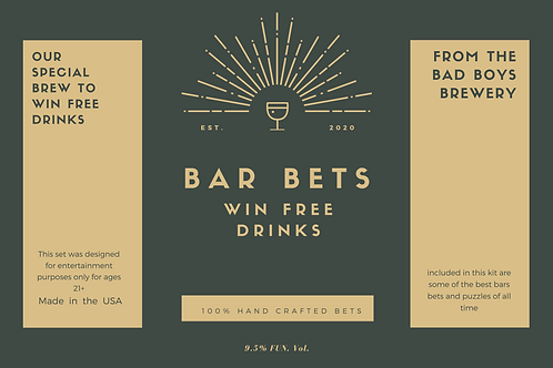Bar Bets Kit