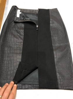 Reiss Leather Skirt