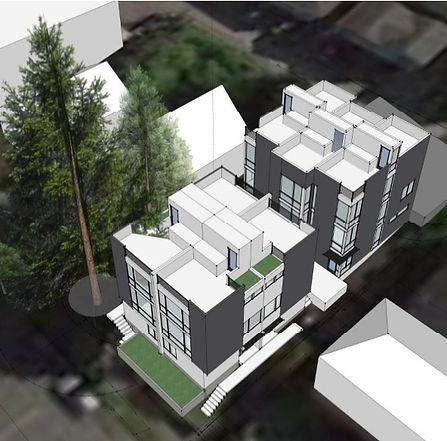Modern toenhomes 3D Greencity Development
