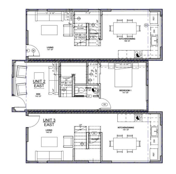 Townhome house floor layouts greencity development
