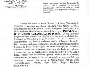 Aprovada CPI para apurar fraudes na gestão de Paulo Titan em Castanhal
