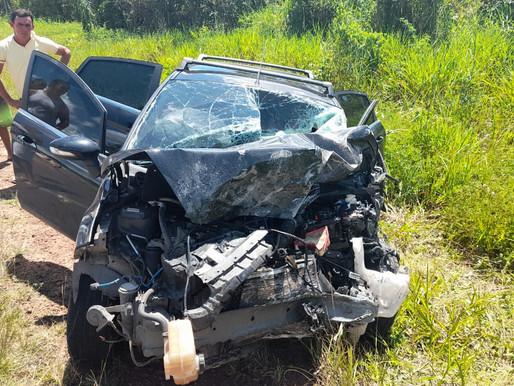 Acidente deixa duas vítimas fatais na PA 124 Capanema / Salinas
