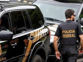 Polícia Federal em ação na cidade de Capanema no nordeste do Pará
