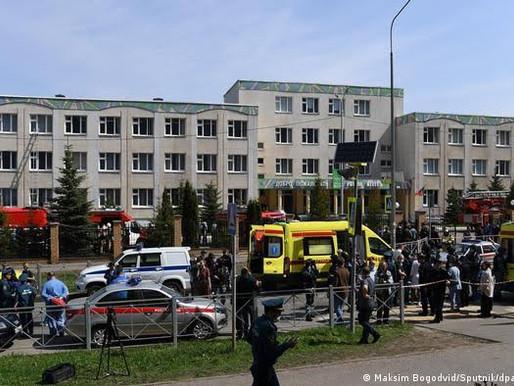 Tiroteio em escola na região central da Rússia deixa nove mortos