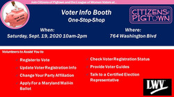 Voter Info Booth