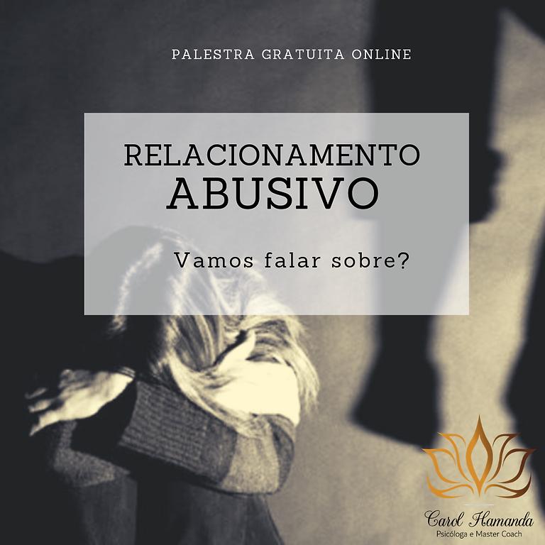 Palestra Gratuita: Relacionamento Abusivo: Vamos falar sobre?