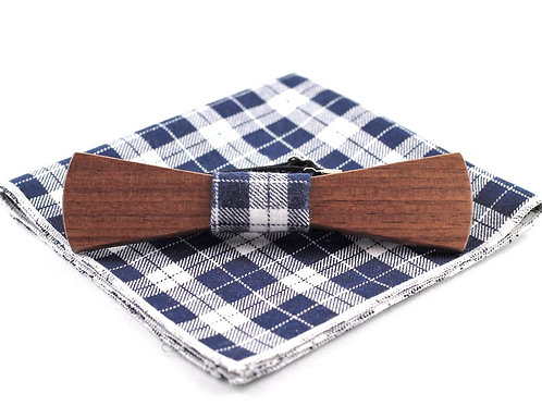 Cyrus Chic (Walnut) Set Skinny Bow Tie
