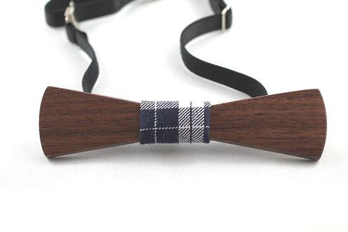 Cyrus Chic (Walnut) Skinny Bow Tie