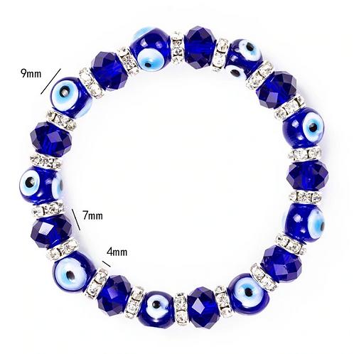 Blue Evil Eye Bracelet