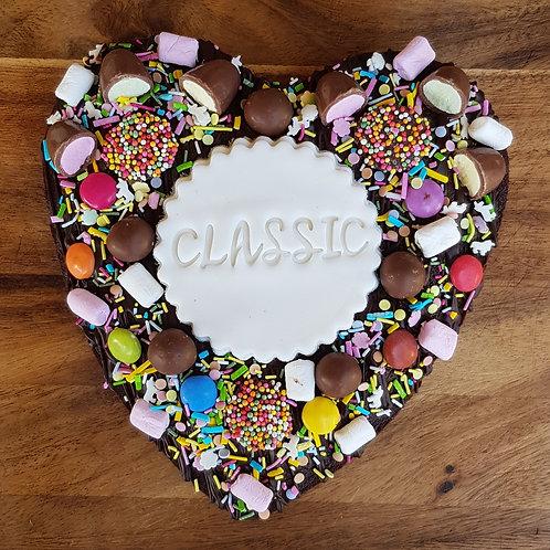 Heart Brownie - Classic