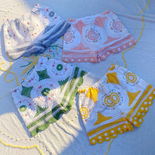 Vintage Crochet Shorts