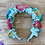 "Thumbnail: ""Halo"" Floral Appliqué Headband - Bright Assortment"