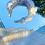 Thumbnail: Heavenly Sheer Dainty Embroidered Halo Head Band