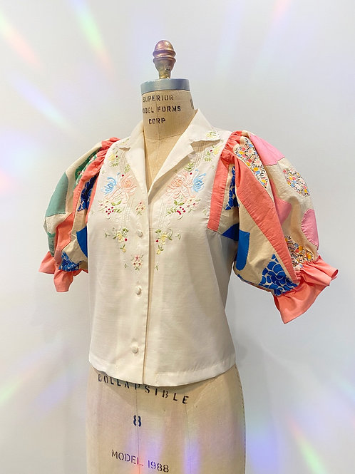 The Heart Embroidered Top