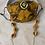 Thumbnail: Vintage Medallion Print Mask w/ Chain