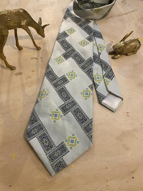 Unbranded 60s Vintage Necktie Made Into A Halo Headband