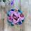 Thumbnail: The Blossom Floral Applique Scrunchie
