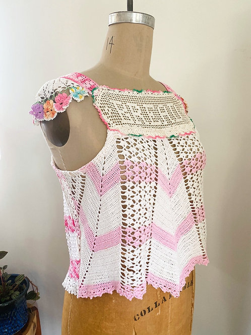 Bread Crochet Apron Top