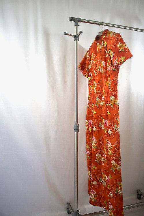 No Brand Oriental Long Dress
