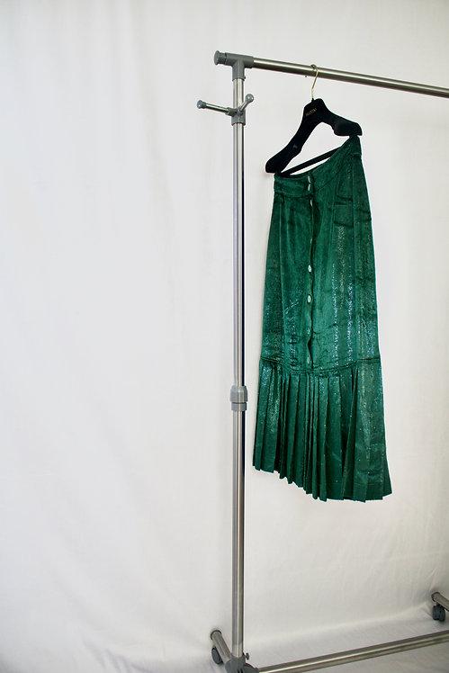 Caren Pfleger Vintage Velvet Skirt