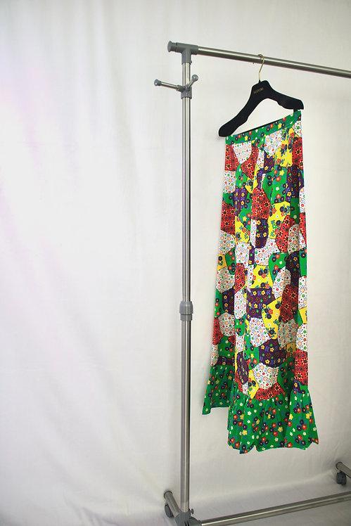 No Brand Vintage Floral Skirt