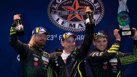 DOUBLE VICTORY FOR ASTON MARTIN RACING IN TEXAS