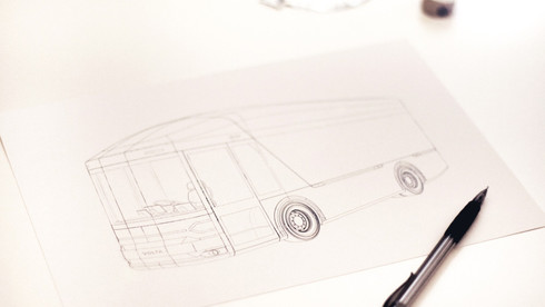 DESIGNING FROM A BLANK SHEET OF PAPER ALLOWED US TO WORK WITH VOLTA TO PRODUCE THE BEST EV TRUCK POSSIBLE
