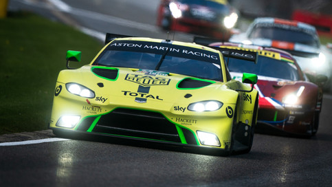 VANTAGE GTE TAKES SECOND WIN IN SPA