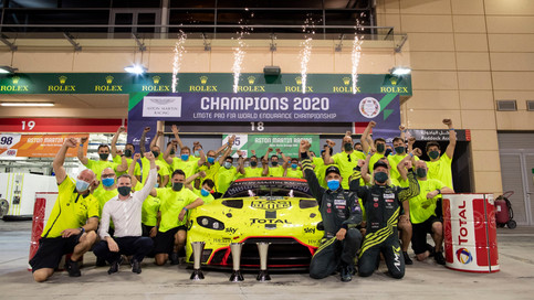 ASTON MARTIN RACING ADDS DRIVERS' TITLE TO MANUFACTURERS' & LE MANS