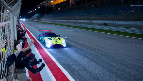 ASTON MARTIN WINS IN BAHRAIN TO TOP WORLD CHAMPIONSHIP