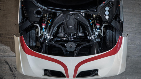 ASTON MARTIN VULCAN V12 ENGINE