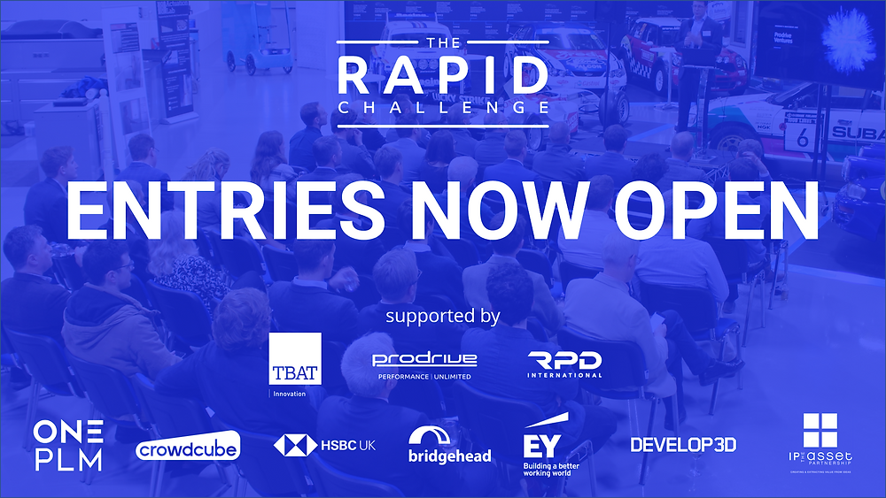 The Rapid Challenge 2021 is now open for entries